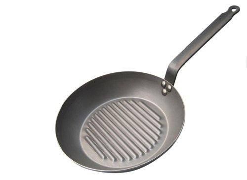 de Buyer Grill Fry Pan Carbone Plus Steel - 10 Cm