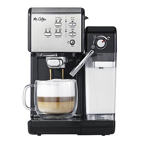 Mr Coffee One-Touch CoffeeHouse Espresso Maker and Cappuccino Machine