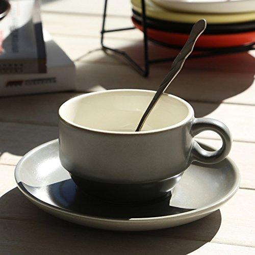 minimalist coffee cup set glass Sleek-A