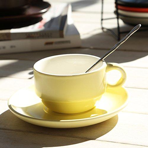 minimalist coffee cup set glass Sleek-B