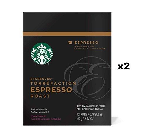 Starbucks Verismo Espresso Roast Espresso Pods 24 Count
