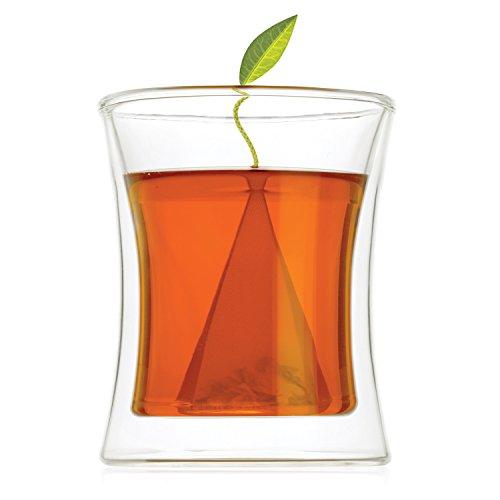 Tea Forte POOM Double Wall Glass Tea Cup