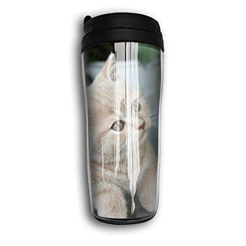 Lovely Kitten Lovely Coffee Mug Custom Tea Cup Insulated Travel Mug Christmas Holiday Gift 350ml