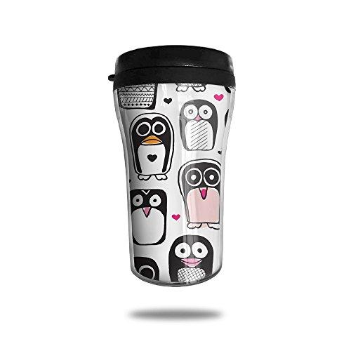 Lovely Penguin Lovely Coffee Mug Custom Tea Cup Insulated Travel Mug Christmas Gift 250ml