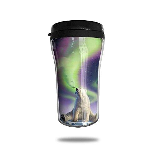 Polar Bear And Spirit Mate Funny Coffee Mug Custom Tea Cup Insulated Travel Mug Christmas Holiday Gift 250ml