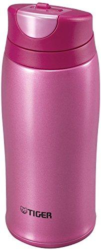 Tiger Corporation MCB-H036-PR Stainless Steel Vacuum Insulated Travel Mug 12 oz Pink