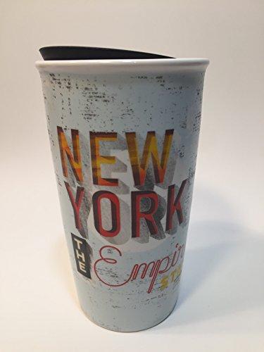 Starbucks New York Limited Edition Ceramic Travel Tumbler Double Wall 12 Fl Oz 11063204