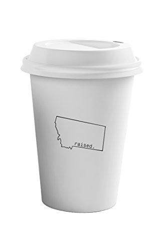 Style In Print Raised Montanan Montana State Coffee Ceramic Travel Tumbler Mug 11oz
