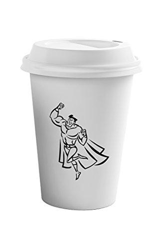 Style In Print Superman Hero Superhero Coffee Ceramic Travel Tumbler Mug 11oz