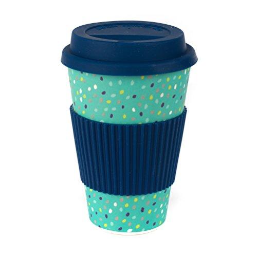 Cambridge CM06191 Speckle Reusable On-The-Go Travel Mug Set of 2