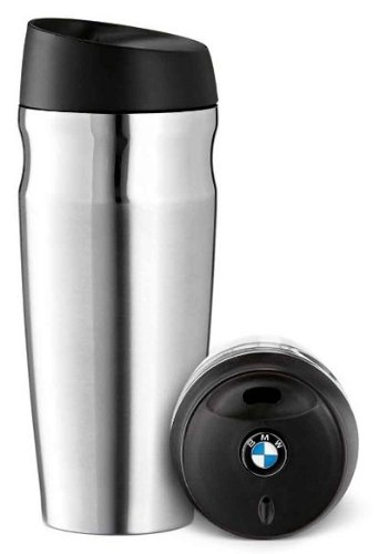 BMW Genuine Brushed Stainless Steel Thermo Mug Stainless Steel