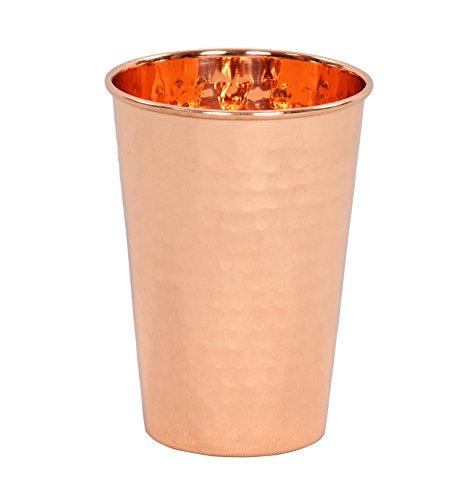 Premium Quality Hammered Copper Tumbler - 100 Pure Hammered Copper Tumbler for Moscow Mules