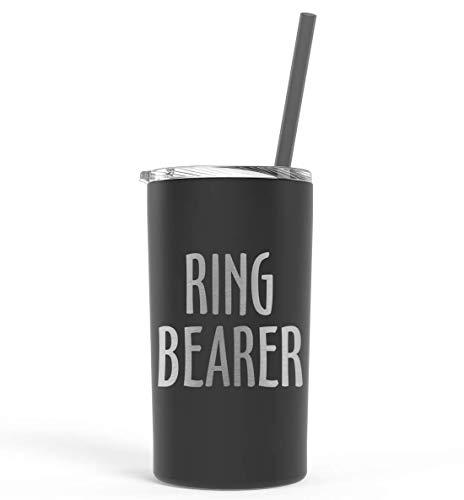 Flower Girl or Ring Bearer Tumbler Gift Ring Bearer Engraved