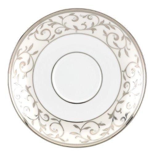 Lenox Opal Innocence Silver Tea Saucer