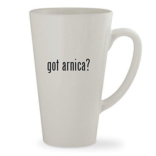 got arnica - 17oz White Sturdy Ceramic Latte Cup Mug