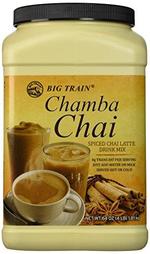 Big Train Chamba Chai Spiced Chai Lattei Two  4lb Jugs