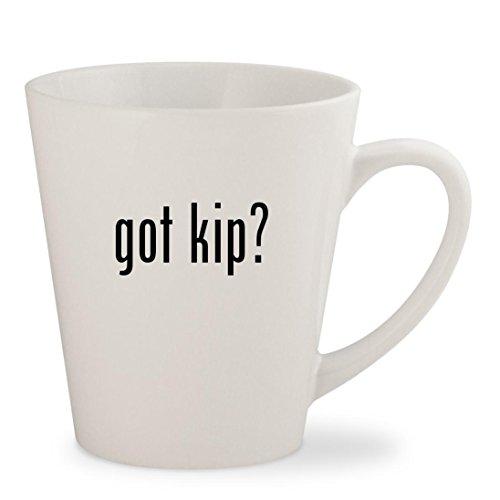 got kip - White 12oz Ceramic Latte Mug Cup