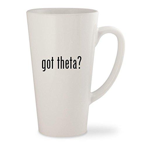 got theta - White 17oz Ceramic Latte Mug Cup