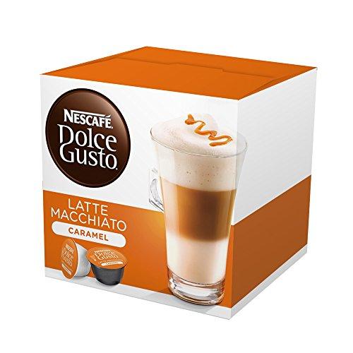 Nescafe Dolce Gusto Capsules Caramel Latte Macchiato16 Count