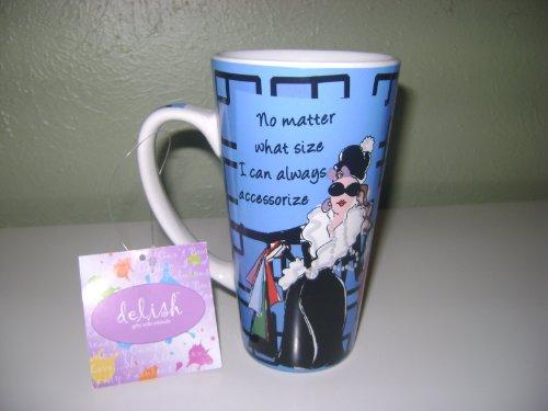 Delish Talllatte Coffee Mug 16 Oz