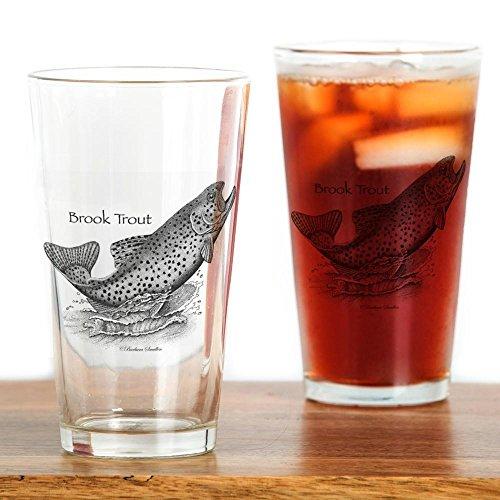 CafePress - Brook Trout - Pint Glass 16 oz Drinking Glass