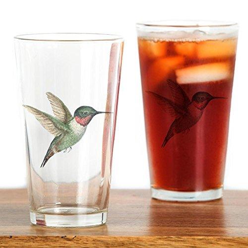 CafePress - Hummingbird - Pint Glass 16 oz Drinking Glass