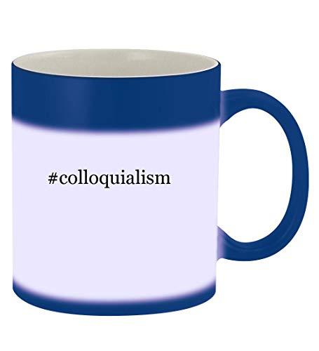 colloquialism - 11oz Hashtag Magic Color Changing Mug Blue