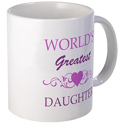 CafePress - Worlds Greatest Daughter Purple Mug - Unique Coffee Mug Coffee Cup