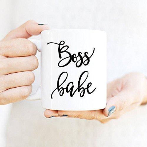 Boss Babe mug  Gift for Boss  Graduation Gift for Her  Cute Officer Decor  Office Decor for Women  Boss Coffee Mug  Boss Gift  Cute Gift  Coworker Gift