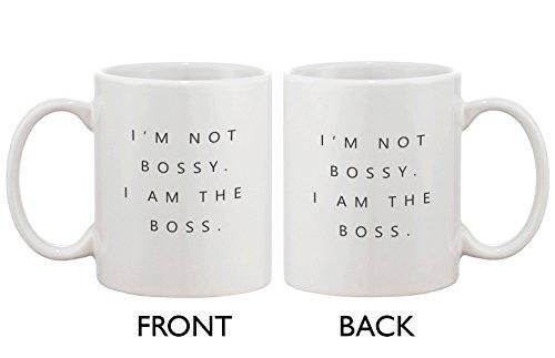 Funny Coffee Mugs - Im Not Bossy I Am the Boss Mug