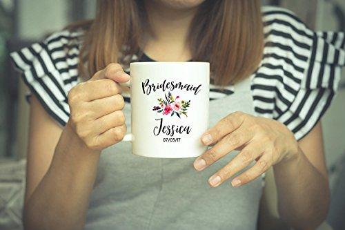 Bridesmaid Mug Bridesmaid Gift Personslized Mug Bridesmaid Coffee Mug Wedding Gift Bridesmaid Proposal Wedding Mug Bridal Party Gift