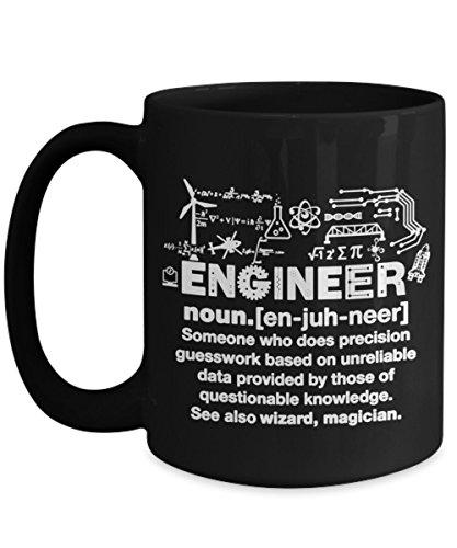 Engineer Definition Funny Coffee or Tea Mug Gift Engineer grandpa dad uncle teacher Mom Wife Daughter Grandpa Coffee Mug Coffee Cup