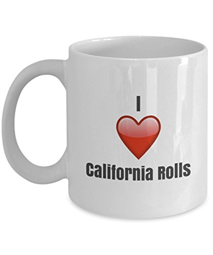I Love California unique ceramic coffee mug Gifts Idea