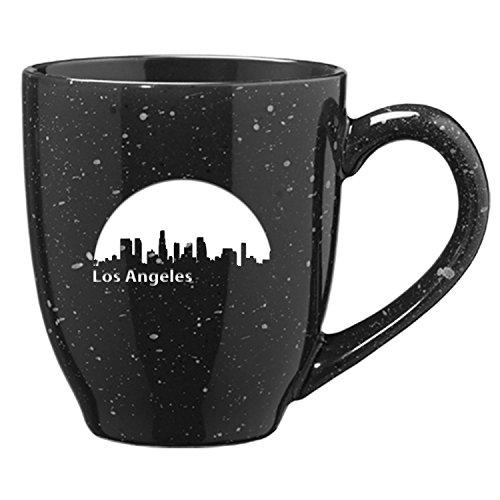 LXG Inc Los Angeles California-16 oz Ceramic Coffee Mug-Black