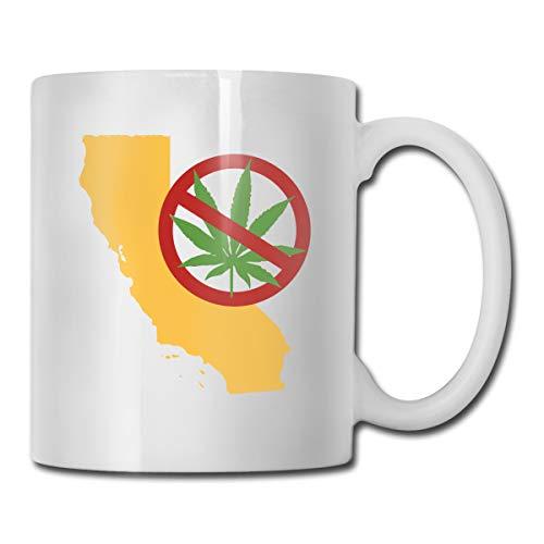 Marijuana CALIFORNIA Ceramic Coffee Mug Ideas Mug Best Family And Birthday Present Cup 11 OZ