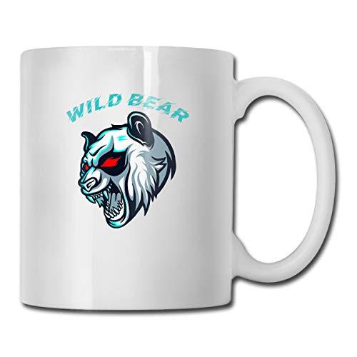 Wild Bear Of California Coffee Mug Gift For Kids Women Men Boys Girls White Ceramic Coffee Tea Mug Cup 11oz