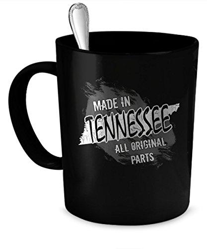 Tennessee Coffee Mug Tennessee gift 11 oz black