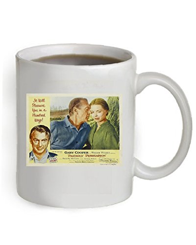 Friendly Persuasion Coffee Mug OZ The Poster is printed on both sides of the Mug