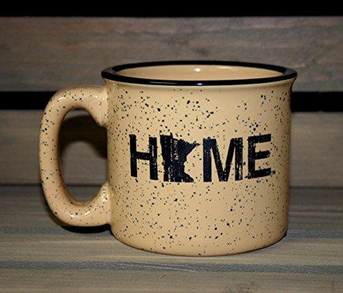 MINNESOTA COFFEE MUG  HOME  BLACK