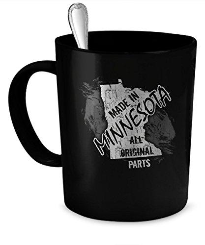 Minnesota Coffee Mug Minnesota gift 11 oz black