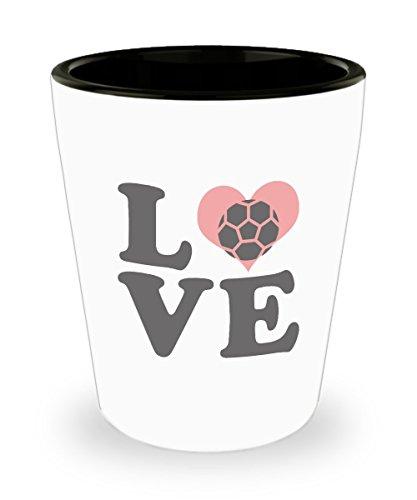 Zane Wear Love Football - Shot Glass Gifts