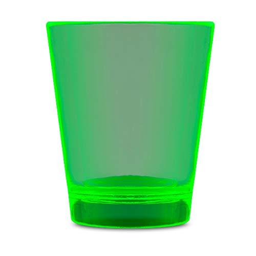 Trinkle Glow In The Dark Shot Glass Green