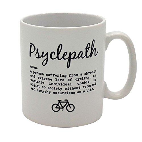 Extreme Workout Mug - Psyclepath - Humorous White Ceramic Coffee Tea Cup