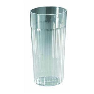 Clear Plastic Tumblerset of 6