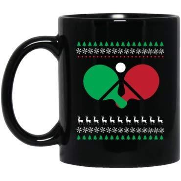 Funny Christmas Mugs Ping Pong Christmas Mug