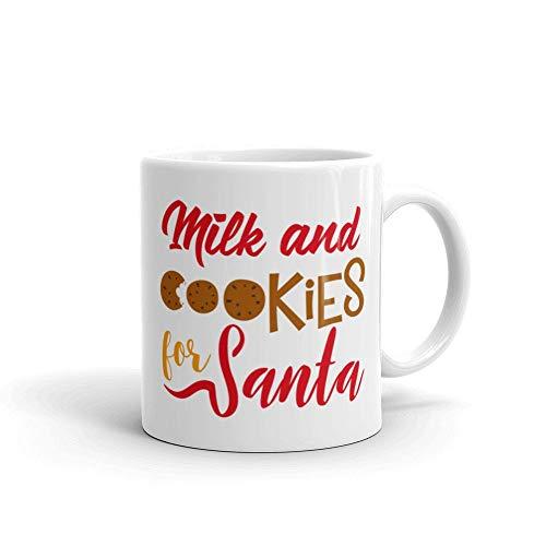 Christmas Mug - Milk and Cookies for Santa Christmas Mug Coffee Cup