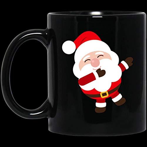 Dabbing Santa Christmas Mugs - 11oz Coffee Mug Tea Cup Gifts