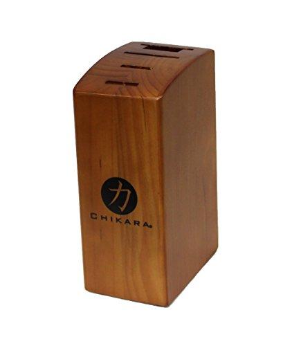Ginsu Gourmet Chikara Series Kitchen Knife Storage and Counter Organizer - 4 Slot Knife Block 13703291S-CDS