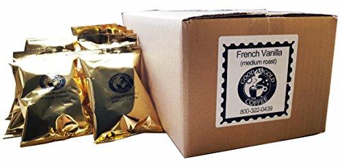 French Vanilla Ground Pre Measured Coffee Packets Good As Gold Coffee 24  2oz Pre-Measured Coffee Packs