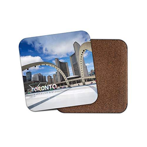 Stunning Toronto Scene Coaster - Canada Travel City Skyscrapers Fun Gift 12864